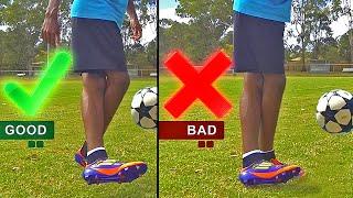 getlinkyoutube.com-Crazy Soccer Skill: Air Rabona Like Rodriguez, Di Maria & Lamela Shot Tutorial