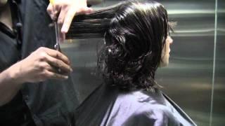 getlinkyoutube.com-Long Layers *Haircut* Step by Step (How to cut *Long Layers*)