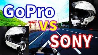 getlinkyoutube.com-[モトブログ] SONY FDR-X3000 vs GoPro HERO4 SilverEdition [Motovlog]FZ1 FAZER