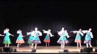 """getlinkyoutube.com-Русский народный танец """"Ручеек"""""""