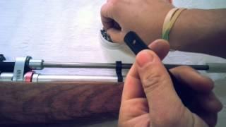 getlinkyoutube.com-PCP Air Rifle (Homemade)  (4.5mm - .177)- Rifle de pressão caseiro PCP