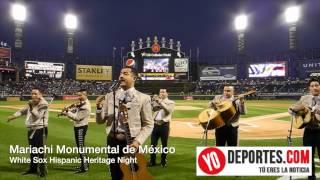 Mariachi Monumental de Mexico en la Noche de la Herencia Hispana en los White Sox.