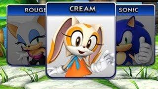 getlinkyoutube.com-Sonic Dash News - Cream The Rabbit Unlocked!