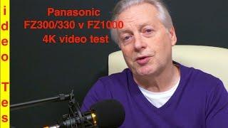 getlinkyoutube.com-4K Video comparison between the Panasonic FZ300/FZ330 and  FZ1000