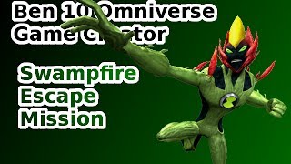 getlinkyoutube.com-Ben 10 Omniverse Game Creator - (Swampfire Escape Mission)