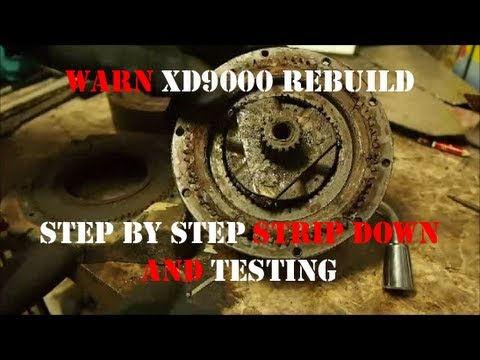 JD's DefenderCam 4: Warn XD9000 Winch Rebuild Part1-Testing & Deconstruction