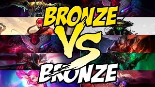 getlinkyoutube.com-5 BRONZES VS 5 BRONZES - LEAGUE OF LEGENDS