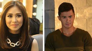 getlinkyoutube.com-Matteo hinarana si Sarah G ng Habang May Buhay