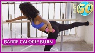 Barre Calorie Burn Workout: 15 Mins- BeFiT GO