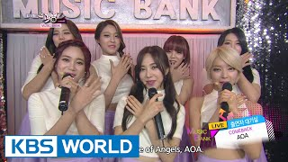 getlinkyoutube.com-AOA - Like a Cat (사뿐사뿐) / Time [Music Bank COMEBACK / 2014.11.14]