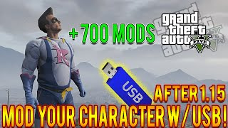 GTA 5 Mods How To Mod Your Character USB Only Tutorial! Play As Chop, Impotent Rage, 700+ More!