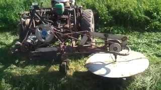 getlinkyoutube.com-Роторная косилка (самодельная) 1 часть. Homemade rotary mower