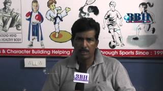K Saibaba Former Ranji Trophy Cricketer Founder Secretary Hyderabad