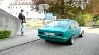 getlinkyoutube.com-Kadett C Coupe mit Gruppe A aus Rasatt