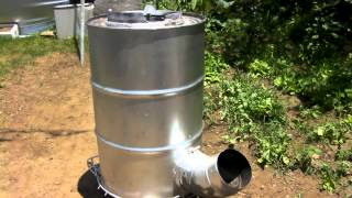 getlinkyoutube.com-ドラム缶ロケットストーブの制作