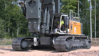 getlinkyoutube.com-Liebherr - Mr. Torque - the LB 44 rotary drilling rig