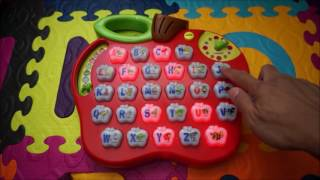 getlinkyoutube.com-Vtech Apple Alphabet, ABC, Spelling, Phonics, Nursery Rhymes and more - Part 2 * LEARNING  Time