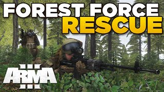 getlinkyoutube.com-FOREST FORCE RESCUE | ARMA 3 Ahoyworld Modded