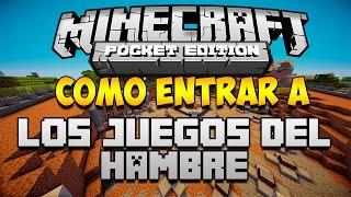 getlinkyoutube.com-COMO ENTRAR A LOS JUEGOS DEL HAMBRE EN MINECRAFT PE 0.14.0