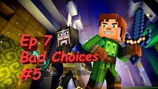 getlinkyoutube.com-Minecraft: Story Mode Episode 7 Access Denied: Part 5 End Bad/Odd Choices