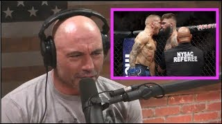Joe Rogan Reacts to TJ Dillashaw KO'ing Cody Garbrandt