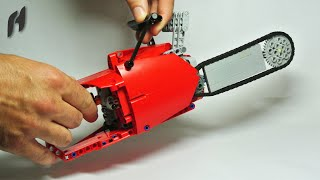 getlinkyoutube.com-How to Build the Lego Technic Chainsaw (with Power Functions Motor)