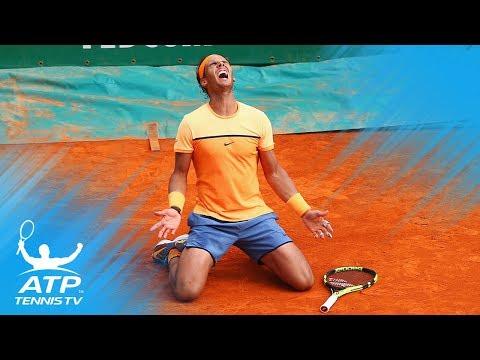 Rafael Nadal vs Gael Monfils: Monte-Carlo 2016 Final Highlights