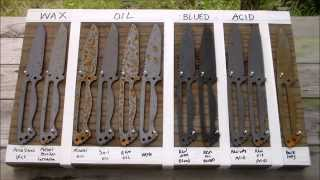 getlinkyoutube.com-1095 Steel, Corrosion/Rust Test for Knife Makers