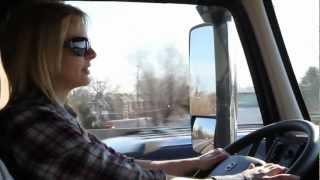 getlinkyoutube.com-2013 MATS - 'Ice Road' Trucker Lisa Kelly