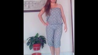 getlinkyoutube.com-Como Hacer un Vestido Enterizo Fácil Y Rapido
