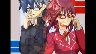 getlinkyoutube.com-Luis Fonsi - Llena De Amor (Anime Aki y Yusei)