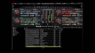 getlinkyoutube.com-Mix Virtual Dj 4 decks + BCD 3000