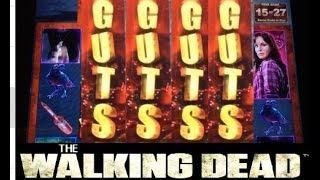 getlinkyoutube.com-JACKPOT #1 The WALKING DEAD slot machine Bonus HANDPAY!