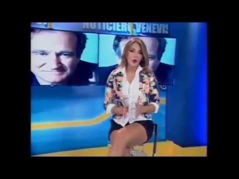 Septimo dia de Miss Venezuela 2013, Migbelis Castellanos como presentadora de Estrenos y Estrellas