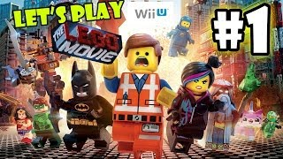 getlinkyoutube.com-Let's Play LEGO Movie - Part 1: Lord Business' First Battle | | Father Son Co-Op Walkthrough Wii U