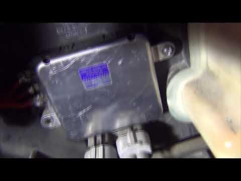 Лексус RX350, постоянно работает вентилятор охлаждения