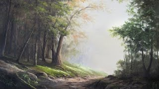 getlinkyoutube.com-Paint with Kevin Hill - Edge of the Forest
