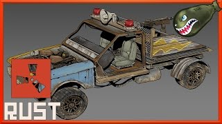 getlinkyoutube.com-Rust What's Coming | Cars, Boats, Heli, Horseback, Electricity, Turrets, Lighting #2 (Rust Updates)