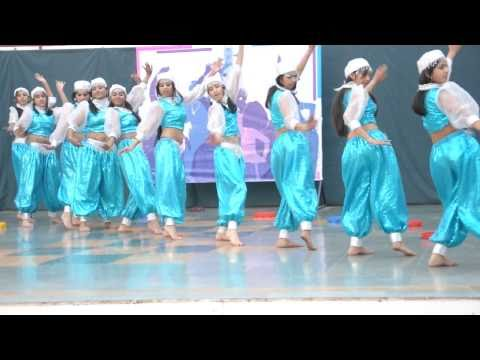 arabian dance by girls of the gurukul sector 20 panchkula.AVI