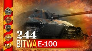 getlinkyoutube.com-E-100 i ciekawa rozmowa :) - BITWA - World of tanks