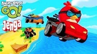 getlinkyoutube.com-Angry Birds GO! Jenga All Characters Unlocked
