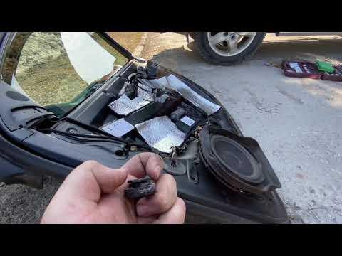 [VLOG] VW Touareg продолжаем разбирать двери. Регулировка передней двери