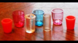 getlinkyoutube.com-Cups How to Make Miniature Cups, tumblers, glasses, glass for Dollhouse