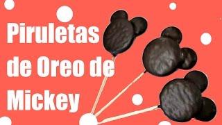 getlinkyoutube.com-Piruletas de Oreo de Mickey Mouse