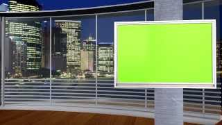 getlinkyoutube.com-NEW FREE Green Screen studio set 3 different angles, awesome city background