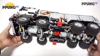 getlinkyoutube.com-LEGO Technic 42043 RC MOD Instructions - A model Mercedes-Benz Arocs 3245 by 뿡대디