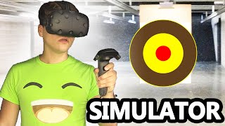 GUN RANGE IN VR SIMULATOR!