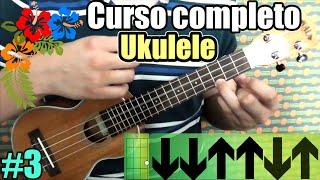 Curso completo ukulele: Más rasgueos (Pop y reggae) y progresiones de acordes