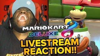 getlinkyoutube.com-Mario Kart 8 Deluxe - LIVE REACTION & Gameplay Trailer!