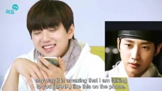 getlinkyoutube.com-[Eng Sub] Jindeul (Jinyoung+Sandeul) phone call cut